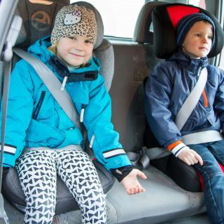 Större säkerhet för små åkande