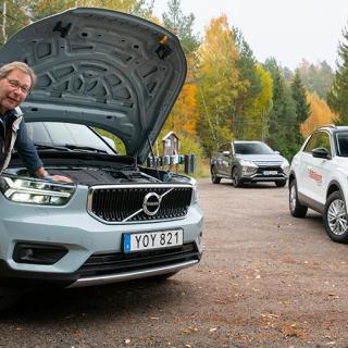 Stor bil med liten motor. Nya Volvo XC40 har bara tre cylindrar under huven. Frågan är om det räcker.
