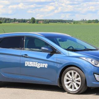 Hyundai i40 är tillverkarens första stora kombi och modellen har sålt hyggligt i Sverige.
