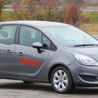 Opel Meriva är rymlig för sin storlek, men har inte blivit någon säljsuccé i Sverige.