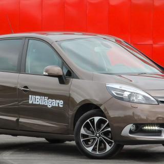 Renault Scénic, här i generation tre, ger mycket utrymme för pengarna.