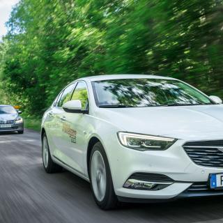 Ljustest: Opel Insignia, Skoda Superb och Ford Mondeo (2017)