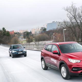 Test: Nissan Qashqai, Skoda Karoq och Opel Grandland X (2018)