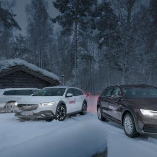 Ljustest: Opel Insignia, Audi A4 Allroad och Volkswagen Passat Alltrack (2018)