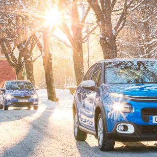 Test: Renault Clio, Skoda Fabia och Citroën C3 (2017)