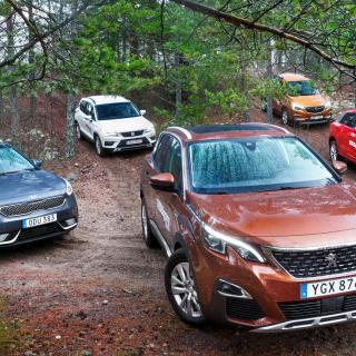 Test: Audi Q2, Kia Niro, Opel Mokka, Peugeot 3008, Seat Ateca (2017)