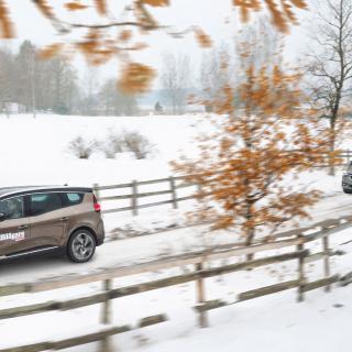 Sjusärdeles flexibla Opel Zafira