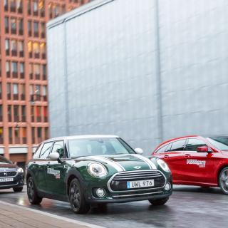 Test: Mini Clubman, Mercedes CLA och DS 5 (2016)