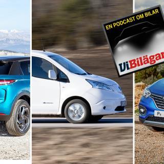 Ljustest: Hyundai Tucson, Mazda CX-5, Renault Kadjar