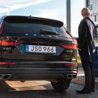 Bilfrågan: Tanka HVO100 i alla diesel-Volvo?