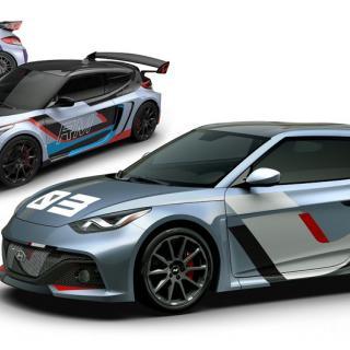 Hyundais konceptserie med prestandabilar, kallade RM (Racing Midship).