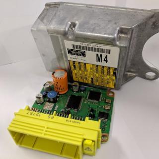 Airbag datasystem crash data reset