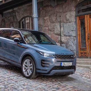 Andra generationen Range Rover Evoque är en helt ny konstruktion.
