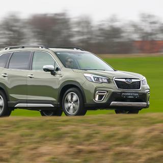 Helt nya generationen Subaru Forester kommer till Sverige i höst, uteslutande som hybrid.