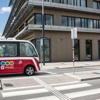 Självkörande minibussar ska testas i Linköping