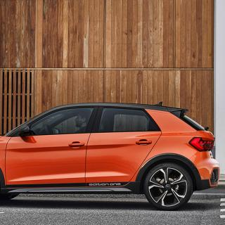 Audi A1 - körglad men dyr