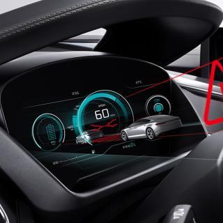 Jaguar Land Rover tror på 3D i head-up displayen