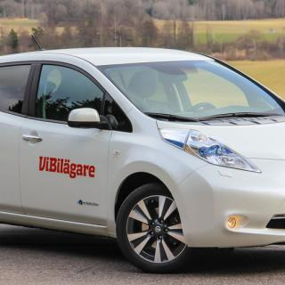 Video: Nissan Leaf korsas med King Cab