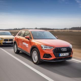 Ljustest: Audi Q3, BMW X2 och Lexus UX (2019)