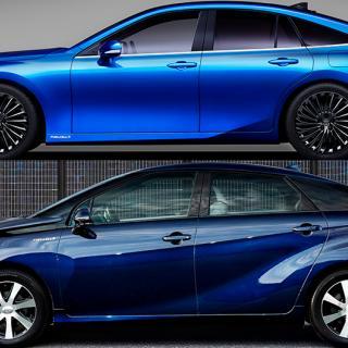Provkörning: Toyota Mirai (2021)