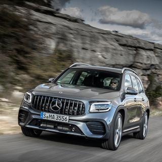 Sjutsitsiga mellansyskonet Mercedes GLB