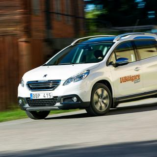 Provkörning: Peugeot 2008 (2013)