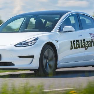 Semester i Tesla Model 3 – med både för- och nackdelar
