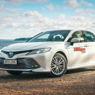 Toyota Camry – rapport från provkörningen