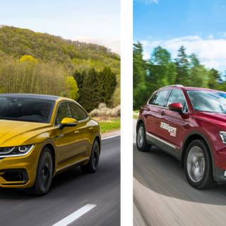Nya Volkswagen Tiguan – första skissen