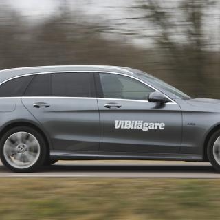 Mercedes C-klass – här som kombi – är en av mellanklassens bekvämaste, men dyraste bilar.