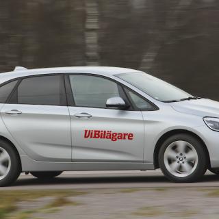 En ovanlig profil för att vara en BMW – Active Tourer är hög och kort.
