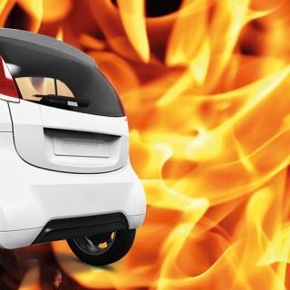 Avslöjat: Brinnande elbilar mindre giftiga än förväntat