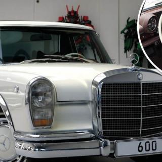 Mercedes-Maybach S-klass – med komfortläge och V12-motor