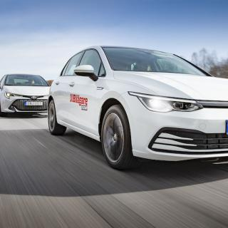 Ljustest: Kia XCeed, Skoda Scala, Toyota Corolla, Volkswagen Golf (2020)