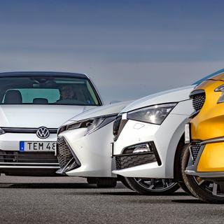 Rosttest: Kia XCeed, Skoda Scala, Toyota Corolla, Volkswagen Golf (2020)