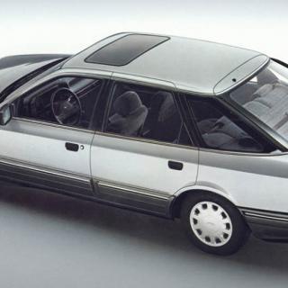 Ny kaross till gammal Ford Coupé