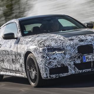 BMW har än så länge bara visat upp 4-serien med maskering. Men den officiella premiären ligger inte långt borta.