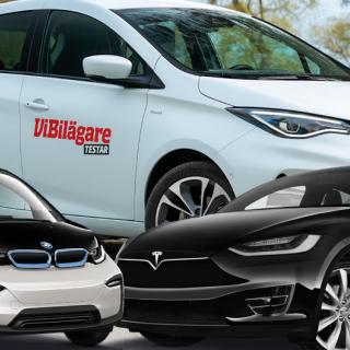 Bästa bilarna enligt ägarna: Mercedes snuvas på segern