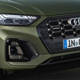 Bilden visar Audi Q5, inte nya Q5 Sportback.