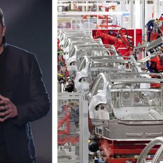 Tesla bygger självkörande lastbil