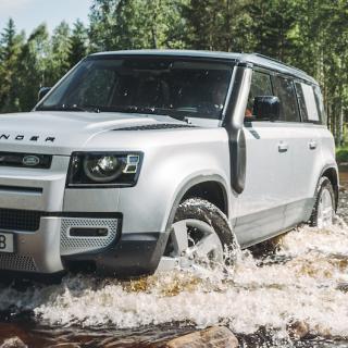 Webb-TV: Vi kör nya Land Rover Defender