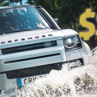 Toyota RAV4 Plug-in Hybrid och Land Rover Defender