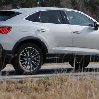 Test: Audi Q3 Sportback, Mercedes GLA och Range Rover Evoque (2020)