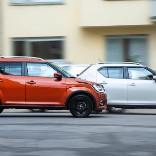 Suzuki Kizashi EcoCharge: Ny hybrid