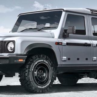 Land Rover-koncept visas i New York