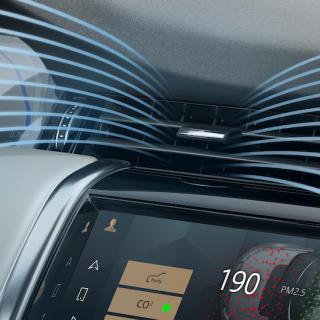 BMW:s nya kupéfilter ger renare luft på två minuter