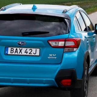 Provkörning: Subaru XV (2012)