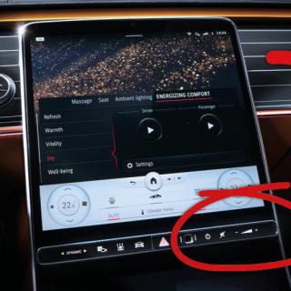 Mercedes EQS en S-klass från framtiden
