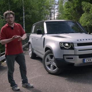 Land Rover Defender nu som laddhybrid – och ny dieselsexa