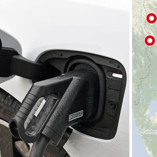 Tesla planerar 21 nya Superchargers längs svenska vägar